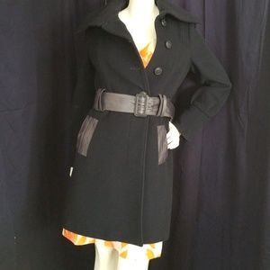 MACKAGE navy wool cashmere pea coat